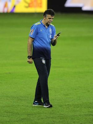 Gilmar Rinaldi - treino seleção Arena Palmeiras (Foto: Marcos Ribolli)