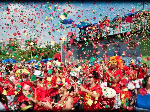 Bangalafumenga no Carnaval do Rio (Foto: Divulgação)