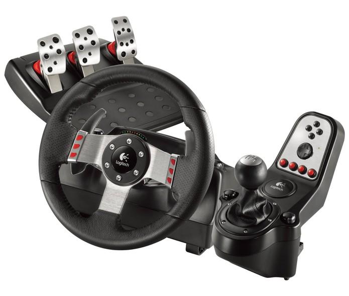 Logitech G27 Racing Wheel (Foto: Divulgação)