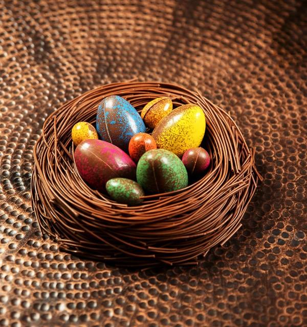 Ninho de chocolate, da CauChocolates (Foto: Divulgação)