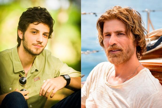 Pedro será vivido por Chay Suede e Reynaldo Gianecchini (Foto: João Miguel Jr/Ramon Vasconcelos/TV Globo)
