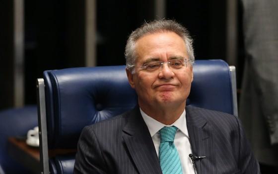 Senador Renan Calheiros (Foto: Ailton de Freitas/ Agência O Globo)