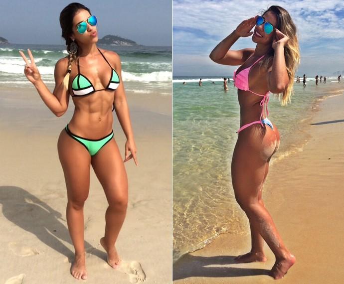 Sabrina Toledo: corpo sarado e cinturinha de apenas 62cm (Foto: Arquivo Pessoal)