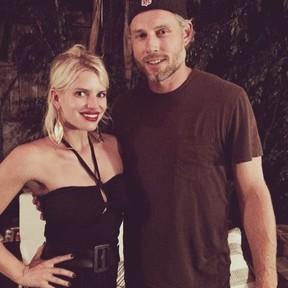 Jessica Simpson e o marido (Foto: Reprodução/ Instagram)