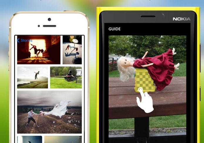 Levitagram para Windows Phone e iOS oferecem efeitos de flutuação em fotografias (Foto: Arte/Divulgação)