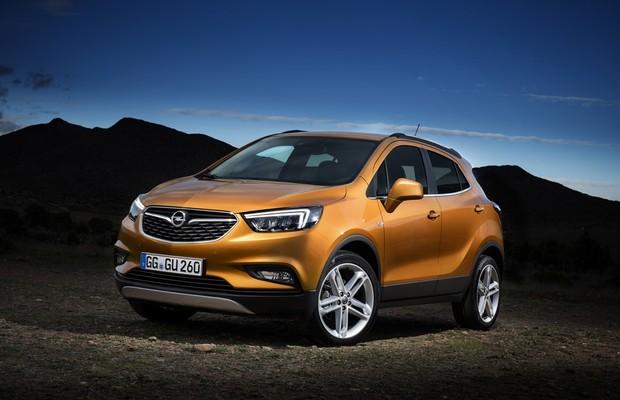 Opel Mokka X será apresentado no Salão de Genebra em março (Foto: Divulgação)