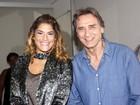 Priscila Fantin e Herson Capri estreiam peça em São Paulo