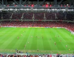 Arena da Baixada Atlético-PR América-RN (Foto: Fernando Freire)