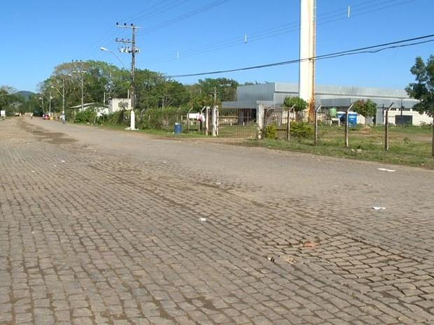 Crime aconteceu no bairro Jucu, em Viana. (Foto: Reprodução/TV Gazeta)