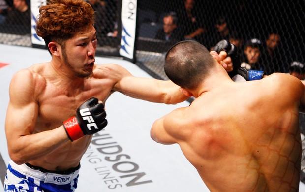 UFC Kazuki Tokudome e Yui Chul Nam (Foto: Agência Getty Images)
