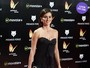 Look do dia: Penélope Cruz usa vestido de rende e com fenda poderosa