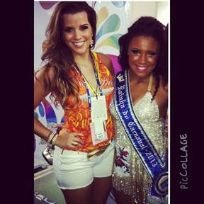 Renata Santos e Evelyn Bastos (Foto: Reprodução Instagram)
