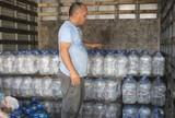Elenco do JEC arrecada arroz e água para atingidos por tornado em SC