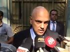 Secretário da Segurança Pública de São Paulo visita Temer