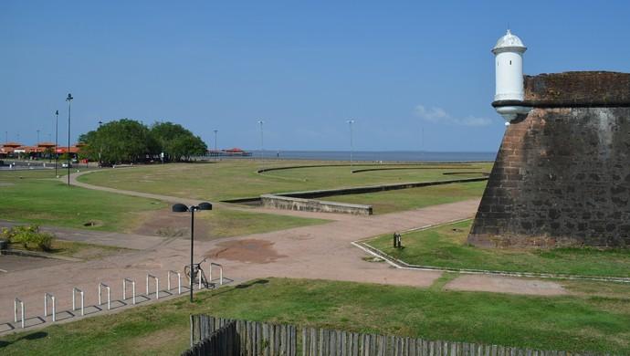 Saúde de Rua vai acontecer ao lado da Fortaleza de São José de Macapá (Foto: Karol Aood)