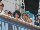 Sheron Menezzes, Galisteu e outros famosos curtem carnaval em Salvador