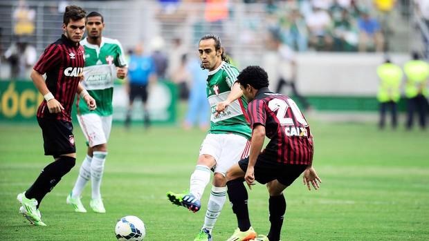 Palmeiras x Atlético-pr, Valdivia (Foto: Marcos Ribolli)