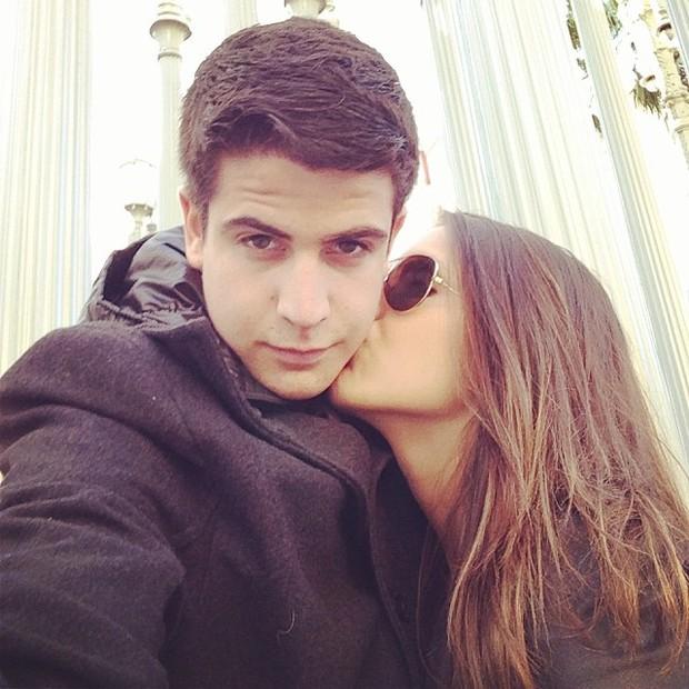 Enzo e a namorada, Rafaella Rique  (Foto: Reprodução / Instagram)
