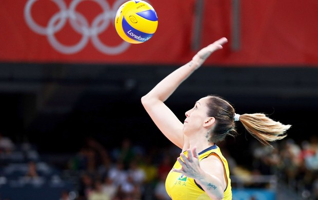 Thaisa Menezes, Final do V&#244;lei, Londres 2012  (Foto: Getty Images)