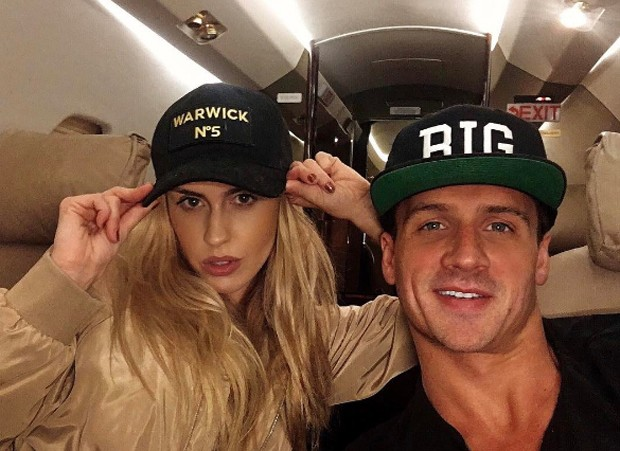 Ryan Lochte e a noiva Kayla Rae Reid (Foto: Reprodução/Instagram)