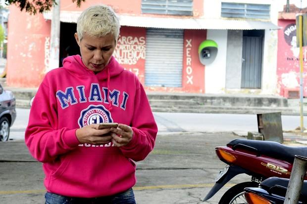 Ane, mãe do Biel (Foto: Roberto Teixeira/EGO)