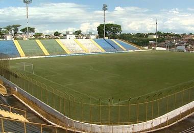 Estádio Lancha Filho, em Franca (Foto: Ronaldo Gomes / EPTV)