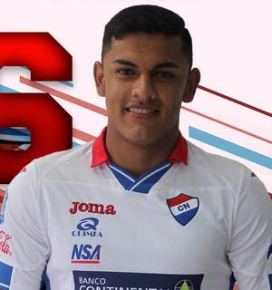 Cristian Colman, do Nacional do Paraguai (Foto: Divulgação)