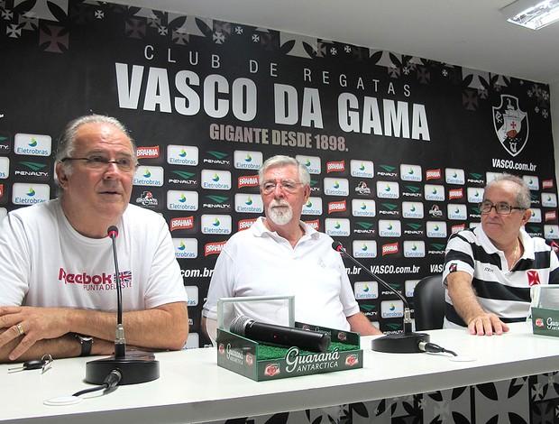 Diretoria Vasco coletiva (Foto: Gustavo Rotstein / Globoesporte.com)