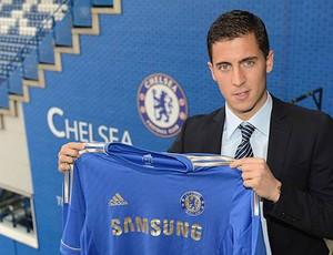 Hazard, Chelsea (Foto: Reprodução / Site oficial do Chelsea)