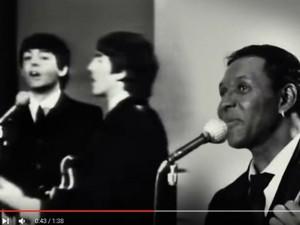 Beto Jamaica e integrantes da banda The Beatles (Foto: Reprodução / YouTube)