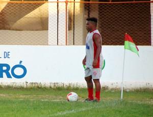 Carlinhos Bala, atacante do Potiguar de Mossoró (Foto: Marcelo Diaz/Divulgação)