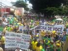 Cidades do interior paulista fazem atos contra a corrupção e o governo