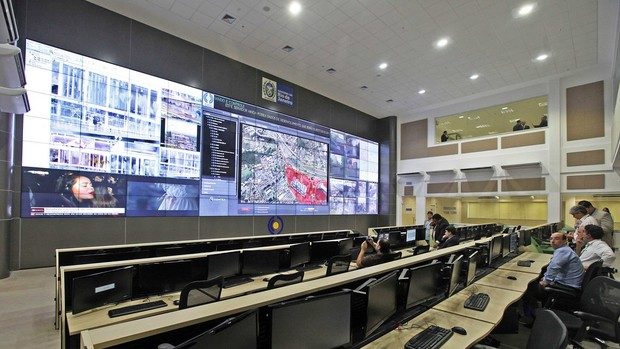 Centro Integrado de Comando (Foto: Marcelo Horn/Governo do Estado do Rio de Janeiro)