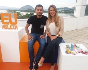 EuAtleta - programa Gustavo e Samara (Foto: Renata Domingues)