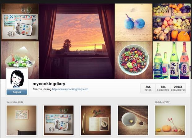 Novo perfil do Instagramm, que pode ser acessado por navegadores convencionais (Foto: Reprodução)