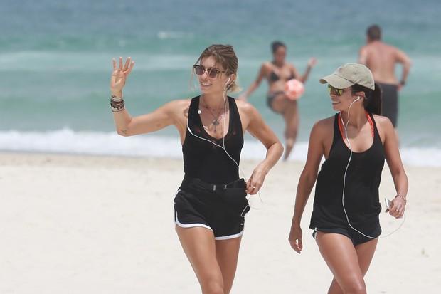 Grazi Massafera e Anna Lima (Foto: Dilson Silva / AgNews)