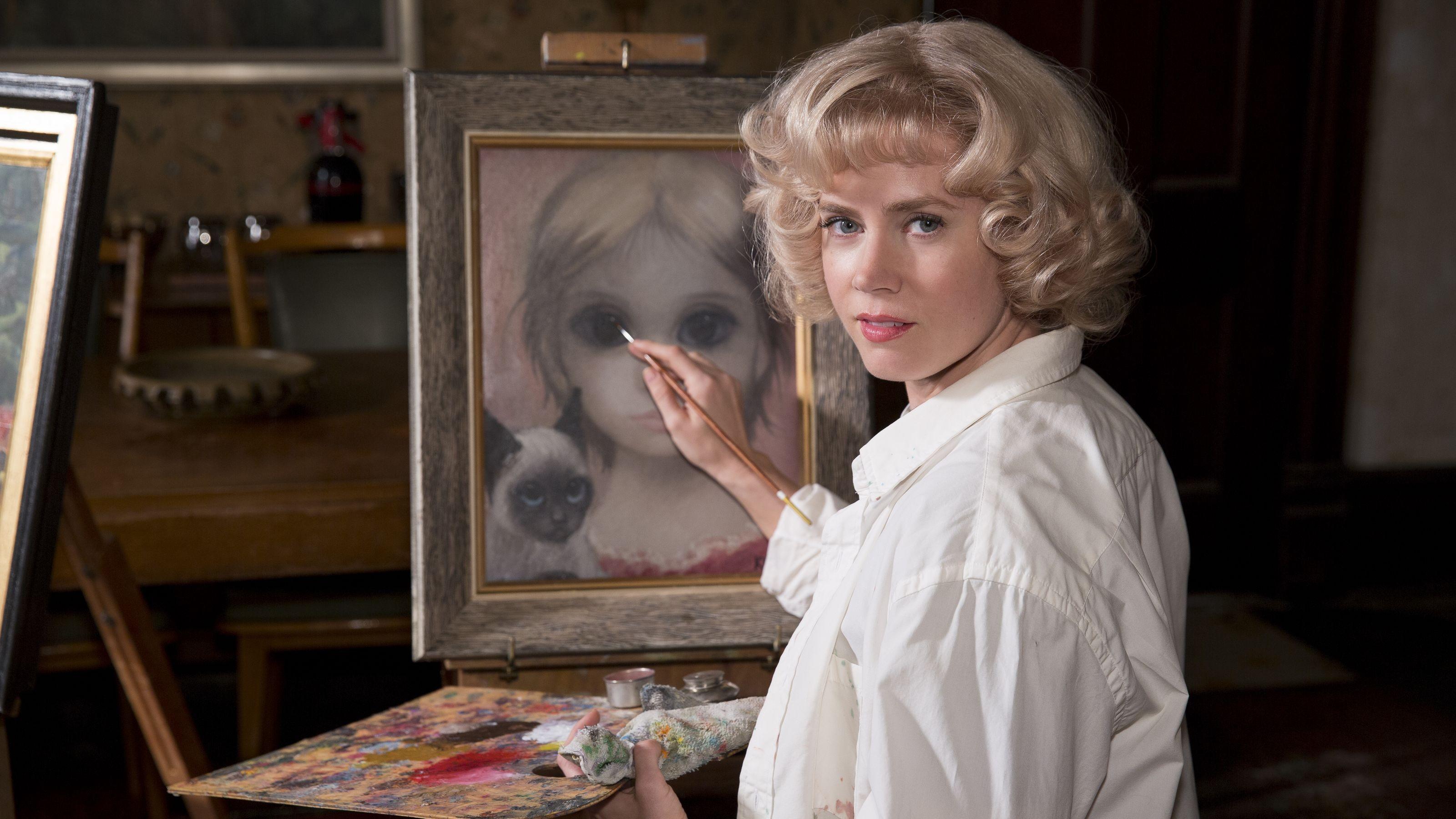 Amy Adams, como Margaret Keane, em Grandes Olhos (Foto: Divulgação)
