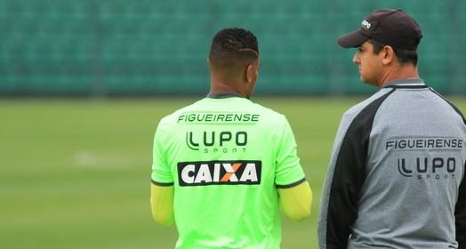 já pro divã  (Luiz Henrique/Figueirense FC)