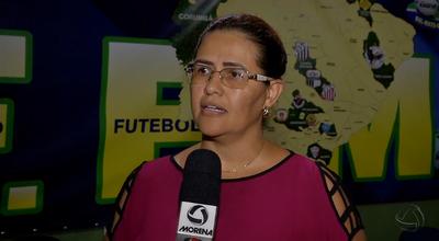Celina Guimarães, presidente do TJD-MS (Foto: Reprodução/TV Morena)