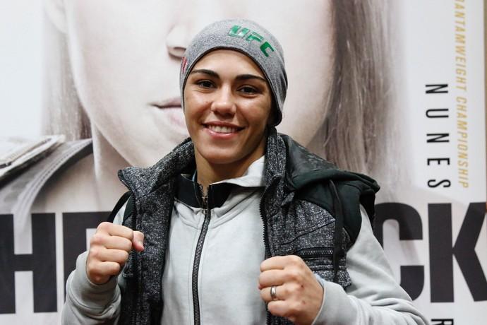 Jéssica Bate-Estaca UFC 207 (Foto: Evelyn Rodrigues)