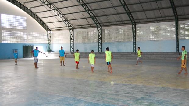 Projeto de esportes UEPB (Foto: Silas Batista / Globoesporte.com/pb)