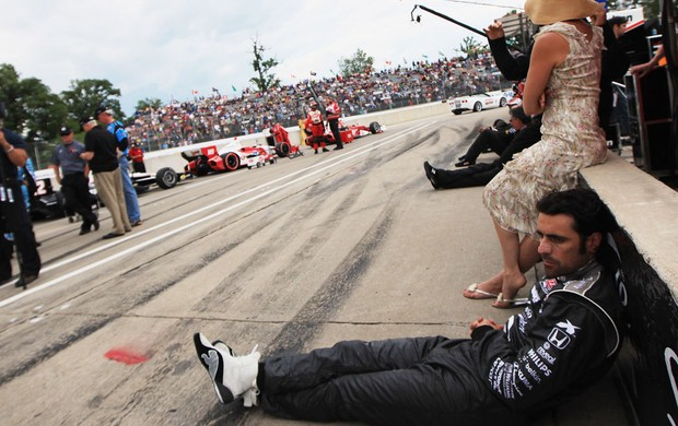dario franchiti f&#243;rmula indy (Foto: Getty Images)