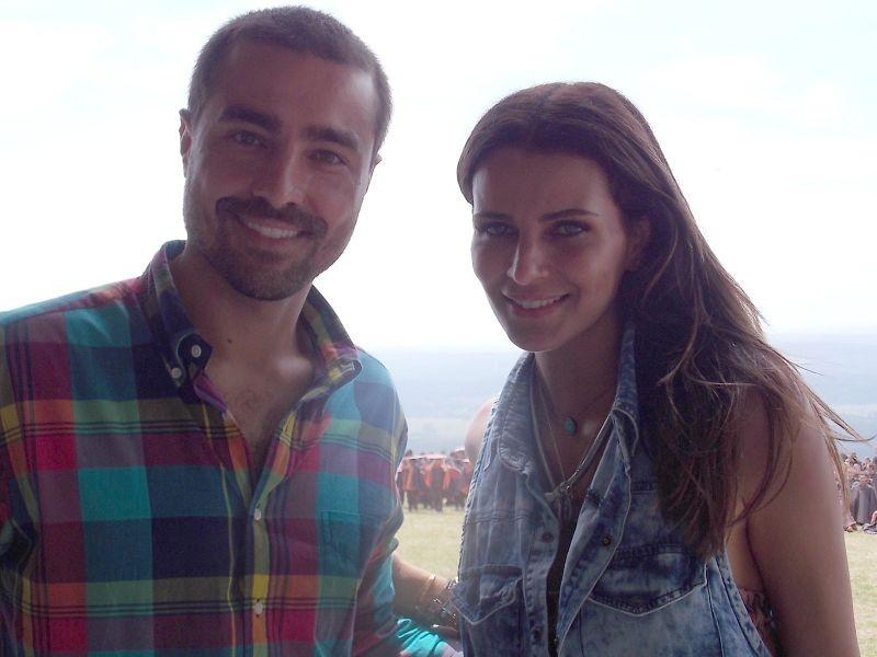 Ricardo Pereira e Fernanda Motta são embaixadores de Botucatu no Dança da Galera (Foto: Gabriela Cardoso / TV TEM)