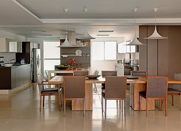 Cozinha revelada (Foto: Edu Castello)