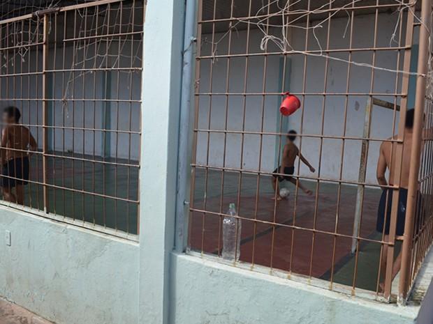 Unidade da CSEBA de Santarém atende adolescentes e jovens do sexo masculino de 12 a 20 anos (Foto: João Machado/G1)
