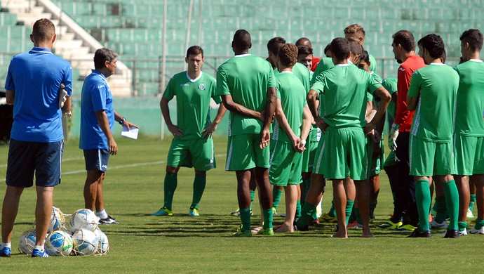 Guarani treino Brinco de Ouro (Foto: José da Cunha / Guarani FC)