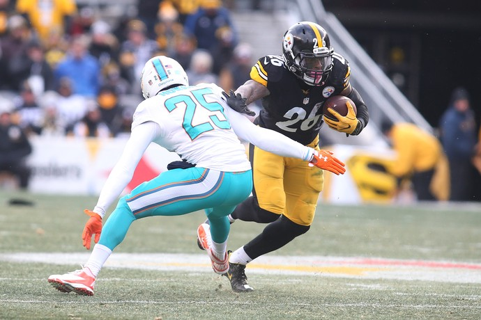 Miami Dolphins x Pittsburgh Steelers - wild card nfl - Bell (Foto: Reuters)