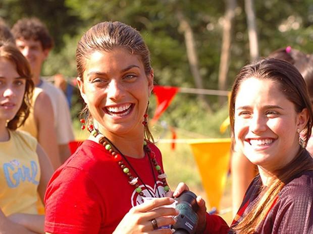 Jaque (Joana Balaguer) e Betina (Fernanda Vasconcellos)