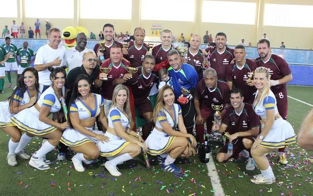 Showbol Fluminense campeão Brasileiro de Showbol de 2014 (Foto: Divulgação )