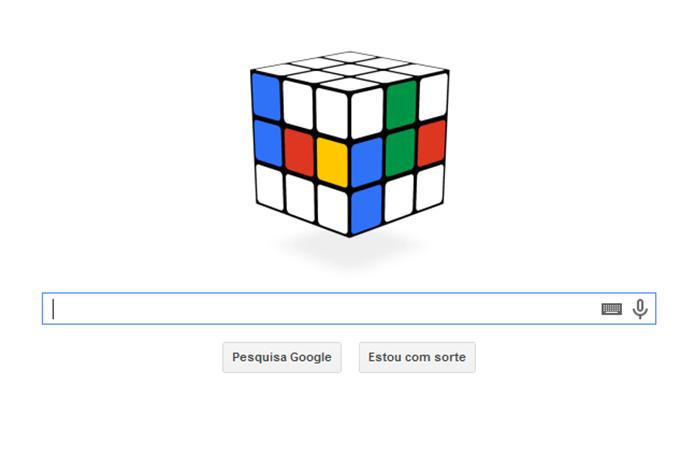 Invenção do Cubo de Rubik, ou Cubo Mágico, é o homenageado pelo Doodle do Google desta segunda-feira (Foto: Reprodução/Google) (Foto: Invenção do Cubo de Rubik, ou Cubo Mágico, é o homenageado pelo Doodle do Google desta segunda-feira (Foto: Reprodução/Google))